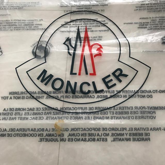 MONCLER(モンクレール)のモンクレール 保存袋 レディースのバッグ(ショップ袋)の商品写真