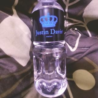 Justin Davis - ジャスティンデイビス 未開封 ノベルティ 水 ペットボトル