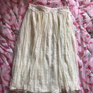 リズリサ(LIZ LISA)のリズリサ シフォンスカート(ロングスカート)