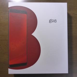 アンドロイド(ANDROID)のgoo スマホ g08 SIMフリー DSDS対応 ゴールド(スマートフォン本体)