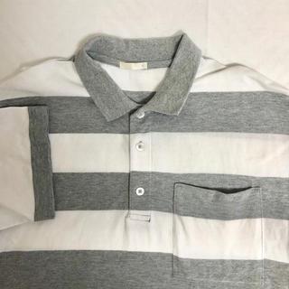ジーユー(GU)のGU ボーダークロップポロ(ポロシャツ)