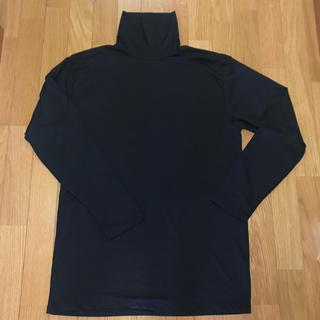 メンズタートル 黒 6L(Tシャツ/カットソー(七分/長袖))