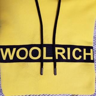 ウールリッチ(WOOLRICH)のWOOLRICH パーカー イエロー XL ウールリッチ(パーカー)