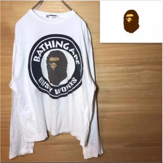 アベイシングエイプ(A BATHING APE)のA BATHING APE アベイシングエイプ  ロンT (Tシャツ/カットソー(七分/長袖))