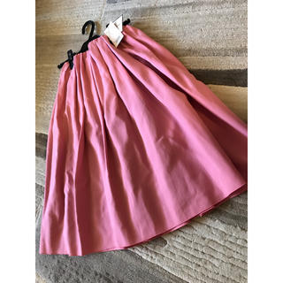 デミルクスビームス(Demi-Luxe BEAMS)の【Demi-Luxe】フレアスカート♡ピンク♡38(ひざ丈スカート)