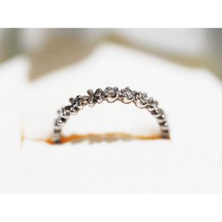 スタージュエリー(STAR JEWELRY)のSTAR JEWELRYダイヤモンド ピンキーリング 指輪 約42mm(リング(指輪))