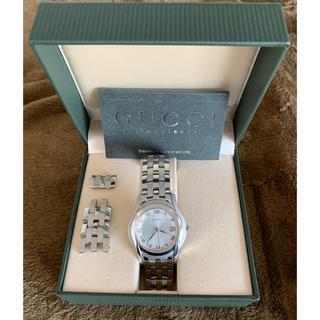 グッチ(Gucci)の(anfan様専用)GUCCI 5500M ジャンク品(腕時計(デジタル))