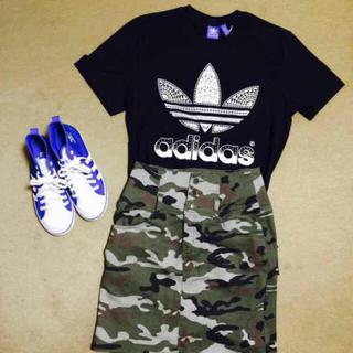 アディダス(adidas)の新品未使用‼︎adidas ビックロゴT(Tシャツ/カットソー(七分/長袖))