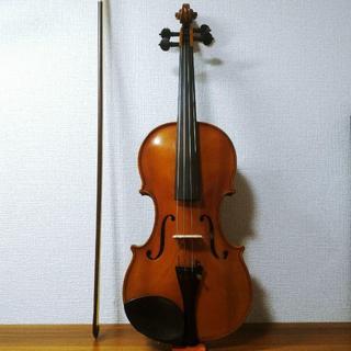 【良音】ルドルフフィドラー 4/4 バイオリン 2000年製(ヴァイオリン)