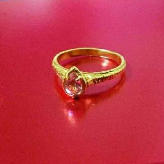 カオル(KAORU)のibukino663様専用  KAORU   ピンクトルマリンシャインリング(リング(指輪))