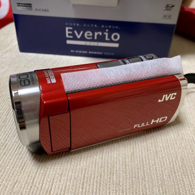 Victor(ビクター)の未使用 新品 JVC  Everio エブリオ スマホ/家電/カメラのカメラ(ビデオカメラ)の商品写真