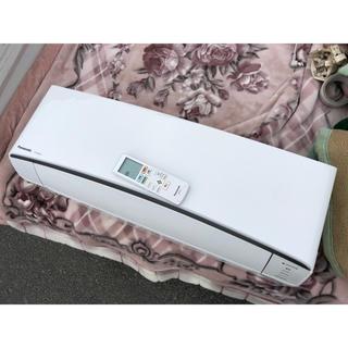 パナソニック(Panasonic)の送料込 2017年製 6畳 パナソニック エアコン 2.2kw エオリア(エアコン)