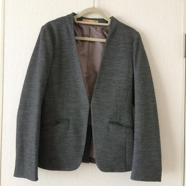 ORIHICA(オリヒカ)のノーカラー ジャケット ssサイズ 5号 レディースのフォーマル/ドレス(スーツ)の商品写真