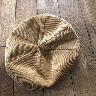 カスタネ(Kastane)のカスタネ Kastaneベレー帽コーデュロイBEAMS(ハンチング/ベレー帽)