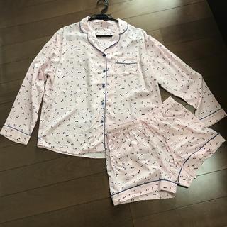 ジーユー(GU)のGU リボン柄 パジャマ上下セット(パジャマ)