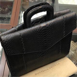 ボッテガヴェネタ(Bottega Veneta)のBOTTEGA VENETA ビジネスバッグ  ⭐️パイソン⭐️(ビジネスバッグ)