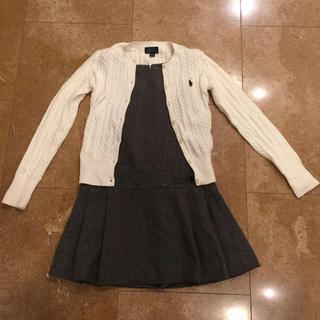 ザラキッズ(ZARA KIDS)のZARA ジャンパースカート  130(ワンピース)