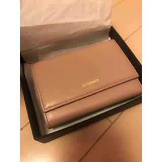 ジルサンダー(Jil Sander)のJILSANDER ゴートレザー 財布 (財布)