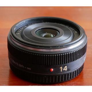 Panasonic - LUMIX G 14mm/F2.5 ASPH. H-H014 パンケーキレンズ