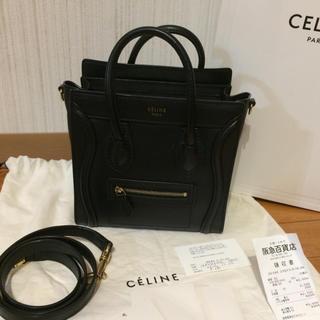 e8338ca3cb04 セリーヌ(celine)のセリーヌ ラゲージ ナノショッパー 2WAY ショルダーバッグ (ハンドバッグ)
