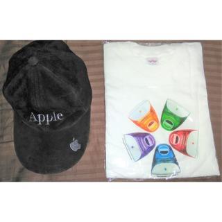 アップル(Apple)の【非売品】Apple帽子とiMacのYum.Tシャツのセットです(ノベルティグッズ)