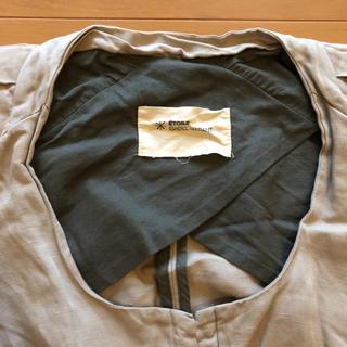 イザベルマラン(Isabel Marant)の可愛い✳︎ISABELMARANT薄手リネン混合ノーカラージャケット(ノーカラージャケット)