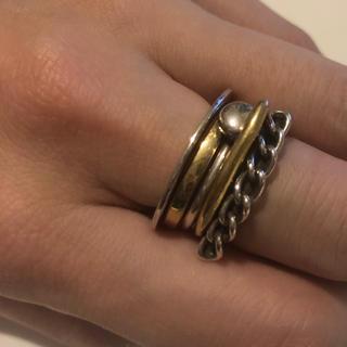 イオッセリアーニ(IOSSELLIANI)のIOSSELLIANI イオッセリアーニ  5連リング  11号(リング(指輪))