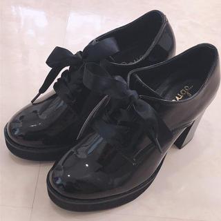 アンクルージュ(Ank Rouge)のAnk Rouge❤︎レースアップオックスフォードシューズ(ローファー/革靴)