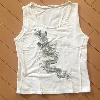 シンシア(cynthia)のCYNTHIA ドラゴン刺繍タンクトップ(タンクトップ)