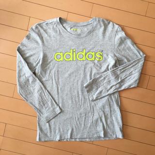 アディダス(adidas)のadidasメンズ長袖TシャツL(Tシャツ/カットソー(七分/長袖))