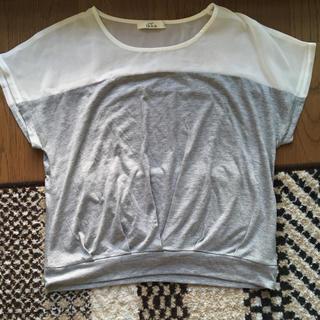 イッカ(ikka)のikka イッカ カットソー トップス Tシャツ(カットソー(半袖/袖なし))