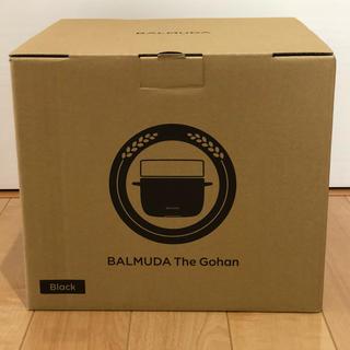バルミューダ(BALMUDA)の新品  BALMUDA The Gohan   K03-BK(炊飯器)