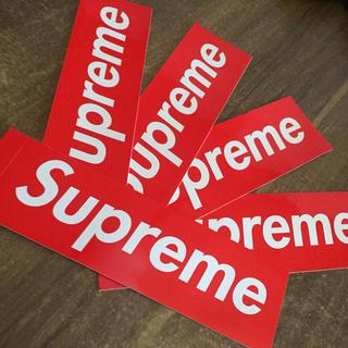 シュプリーム(Supreme)のsupreme ボックスロゴ ステッカー 5枚セット(ステッカー)