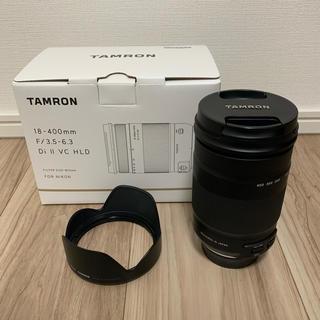 タムロン(TAMRON)のTAMRON 18-400mm F3.5-6.3 ニコンFマウント APS-C(レンズ(ズーム))
