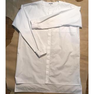 ジルサンダー(Jil Sander)のJIL SANDER ノーカラーシャツ(シャツ)