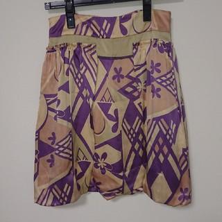 マックスマーラ(Max Mara)のSPORT MAX バルーンスカート シルク100%(ミニスカート)