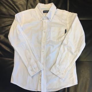 ニシマツヤ(西松屋)の西松屋☆ホワイト ボタンダウンシャツ サイズ140(ブラウス)