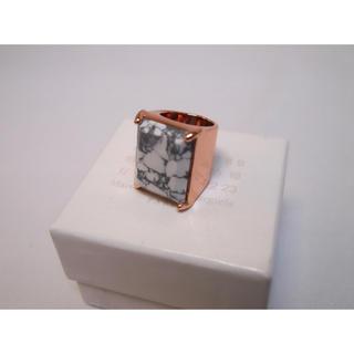 マルタンマルジェラ(Maison Martin Margiela)のマルジェラ ナチュラルストーンリング 指輪(リング(指輪))