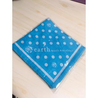アースミュージックアンドエコロジー(earth music & ecology)のearth music&ecology バンダナ(バンダナ/スカーフ)