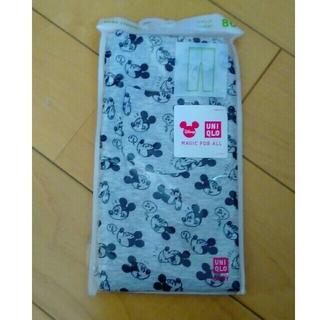 ユニクロ(UNIQLO)の新品☆未使用☆80㎝☆ベビー☆スパッツ☆タイツ☆ディズニー☆ミッキー(靴下/タイツ)