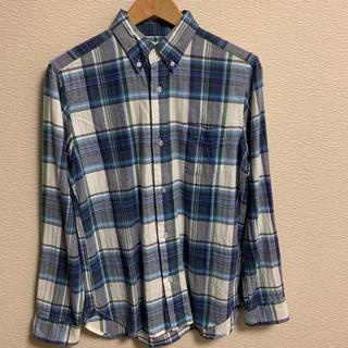 コーエン(coen)のcoen チェックボタンダウンシャツ(シャツ)