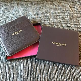 ゲラン(GUERLAIN)のGUERLAIN 未使用カードケース 本革(名刺入れ/定期入れ)
