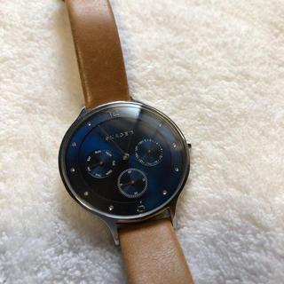 3c022dea98 スカーゲン 腕時計(レディース)(ブルー・ネイビー/青色系)の通販 27点 ...