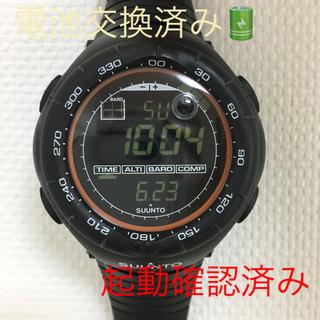 スント(SUUNTO)のSUUNTO VECTOR XBLACK 並行輸入品(腕時計(デジタル))