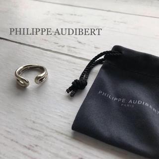 フィリップオーディベール(Philippe Audibert)の極美⭐︎昨年購入⭐️大人気 PHILIPPE AUDIBERT  シルバーリング(リング(指輪))
