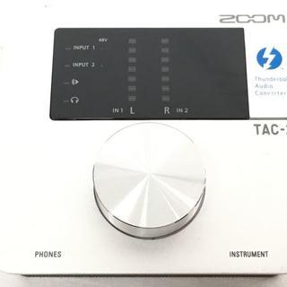 ズーム(Zoom)のZOOM TAC-2 ハイレゾ オーディオインターフェイス(オーディオインターフェイス)