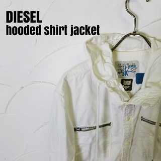 ディーゼル(DIESEL)のDIESEL/ディーゼル フード付き シャツ ジャケット(その他)
