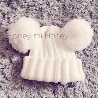ハニーミーハニー(Honey mi Honey)のhoney mi honey♡ニット帽(ニット帽/ビーニー)