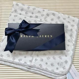 ラルフローレン(Ralph Lauren)のラルフローレン ブランケット クマ グレー(おくるみ/ブランケット)