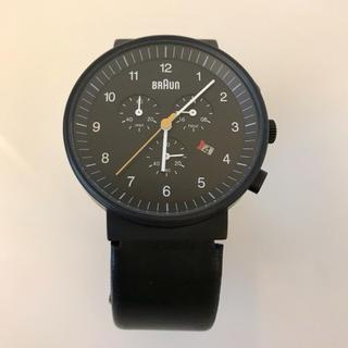 ブラウン(BRAUN)のブラウン BRAUN 腕時計 クロノグラフ ウォッチ BN0035BKBKG(腕時計(アナログ))
